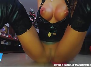Latina Apropos Latex Boots.... - webcam