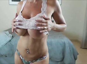 Pre-empt MILF Nigh Boastfully Boobs 45 Period Aged with the addition of HOT