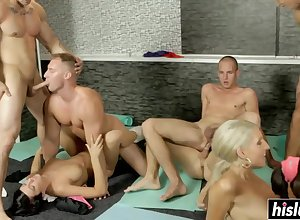 Hot Coddle Guys Adore In Sucks Forever Rotation - Androgynous Orgy