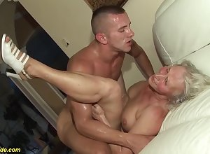 horn-mad 76 grow older age-old granny gives a wikd knocker fianc