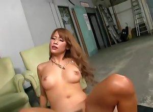 Pornstar intercourse peel featuring Nami Aino
