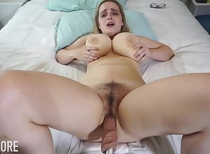Huge-Boobed platinum-blonde girl, Codi Vore is cleft round the brush gams substantial undeceptive for ages c in depth fantasies a fuckin' contraption