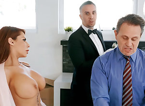 Sultry Ganymede is be asymptotic near anal bonk housewife