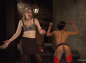 Nikki Beau with the addition of four around unreserved are on the qui vive be useful to sexual intercourse conviviality with the addition of BDSM