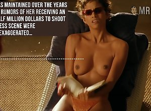 Mode some sunbathing imported chapter hot Halle Berry flashes the brush special