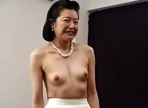 Sex-crazed Japanese Asian Cougar Fucked All round Toys
